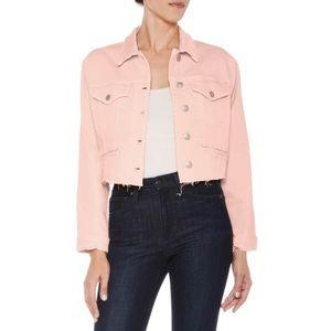 Joe's pink jean jacket